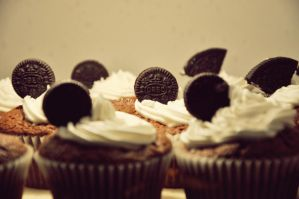 Oreo Cupcakes 2 by Disneys-Buffy