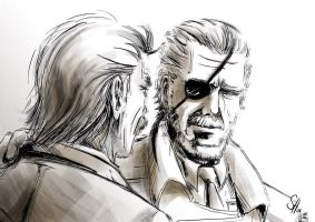 SPOILER: MGS4 by arok318