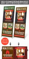 Real Estate Outdoor Banner a Billboard Signage PSD by ShermanJackson