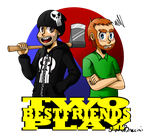 TWO BEST FRIENDS PLAY by Braccini