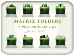 Matrix Folders by jlfarfan