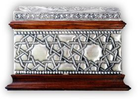 ARABIC CHEST 1 - FRONT. by arteymetal