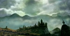 Fantasy Castle by Silberius
