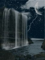 Waterfall Premade BG Stock by RBSRdesigns