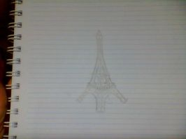 Eiffel Tower by celiact