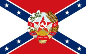 Socialist Confederal Republic of Dixieland by AmericanSFR