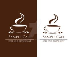 cafe logo 4 sale by dexinger