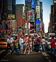 naked cowboy by PatrickWally