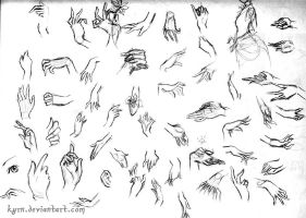 hand studies 2 by MeredithDillman