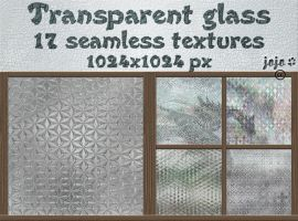Transparent glass seamless textures by jojo-ojoj