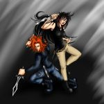 Jay and Kitaku combo attack by Sferath