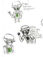 Rick the Adventure core sketches by mirkwoodprincess123