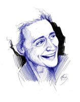 Hiddles Sketch by HashtagGenius