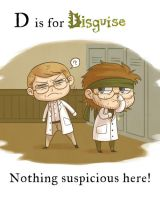 MGS - D is for Disguise by FerioWind