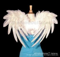 Helene ANGEL Wings cosplay bk by eProductSales
