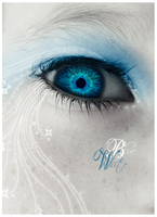 Eyes - Blue White by Mep-Art
