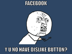 Dislike Button 4 Facebook by madonnafan123