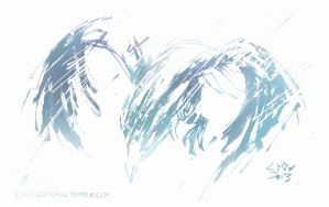 Anivia, the Cryophoenix (August 31st, 2013) by Alex-Chow