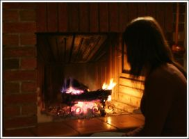 Titti by the fire by Metalelf0
