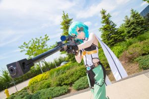 Anime North 2016 - Sinon by 01Tsukiakari