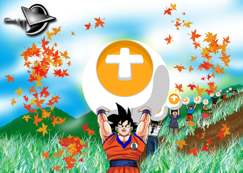 Goku donating points!! by SamuelHavel