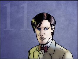 11th Doctor Portrait by IMForeman