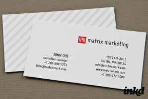 Marketing Firm Card by inkddesign
