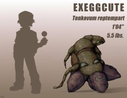 Realistic Pokemon - Exeggcute
