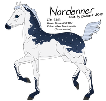 7343 - Nordanner Foal Design by Ikiuni