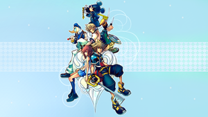 KH II Wallpaper by StrawberryHollow