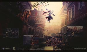 Assassin's Creed 2 Wallpaper by chromium-art