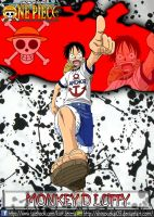 Monkey D Luffy Anchor Outfit by ShiNoGekai03