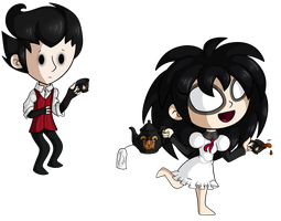 [Don't Starve] Tea Time by Miss-Twila