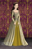 Anne Boleyn, Coronation Gown by daretoswim7709