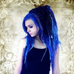 Blue Lady by Marie-CatoinettePL