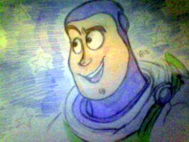 Buzz Lightyear by PaperBagHero