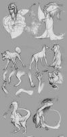 Sketches October 2013 by Autlaw