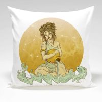 Aquarius Pillow by SpottedNymph