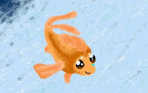 Cassie Goldfish :'D by Axiroth