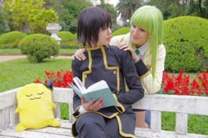 Lelouch x C.C. by marcychan