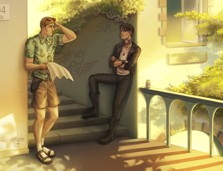 170607 - Commission - Eruri by unhlyghst