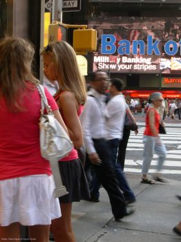 Banko: Times Square by supremextreme