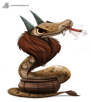 Day 816# Reverse Chimera by Cryptid-Creations