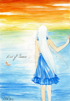 + Opposite Colors Attract + Sky and Sea by Lili-ve