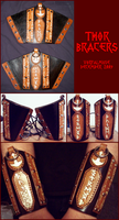 Thor Bracers by TheScreamingNorth