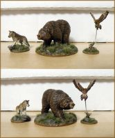 Miniatures - Animals 1 by Bjerg