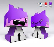 papertoy for ATCN by thehermitdesign
