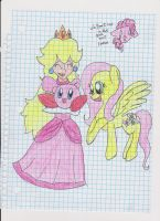 The Pink Trio by JackJack71