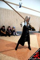 Sephiroth cosplay at Metrocon by DartFeld