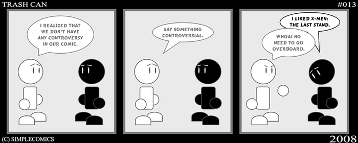 Trash Can  No. 13 by simpleCOMICS